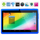 "7"" 16GB Kids Tablet PC Android Wifi Quad Core HD Dual Camera Education Game Gift"