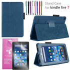 """For Amazon Fire 7 2019 9th Gen 7"""" Tablet Case Protective Cover +Screen Protector"""