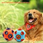Dog Sounding Toy Ball With Bell Teeth Grinding Bite Chew Resistant Toy Ball