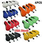4X Universal Golf Club Head Covers Replacement Driver Fairway Wood Covers USA