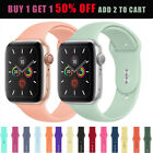For Apple Watch Series 4/3/2/1 38/42 Replacement Silicone Wrist Sport Band Strap image
