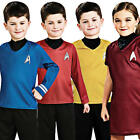 Star Trek Kids Fancy Dress Sci Fi Trekky Uniform Boys Girls Child Costume Outfit on eBay