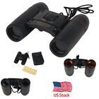Day Night Vision Binoculars 30x60 Zoom Outdoor Travel Folding Telescope W/Bag US