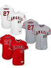 Men's Los Angeles Angels #27 Mike Trout Majestic Alternate Base Player Jersey on Ebay