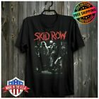 SKID ROW BAND T-Shirt GLAM ROCK METAL CINDERELLA DOKKEN POISON TShirt Full Size image