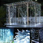 6m Led String Fairy Curtain Light Hanging Backdrop Home Garden Decor Wall Lights