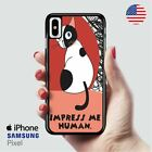 Grumpy Cat Impress Me Human iPhone X Samsung S10 Pixel Case