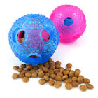 AM_ Mini Chew Teether Food Leakage Dispense Ball Pet Cats Dog Interactive Toy Su