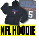 Reebok NFL Football Men's Buffalo Bills Trent Edwards Hoodie Sweatshirt - Navy $14.95 USD on eBay