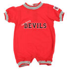 NHL Hockey Boys Girls Infant New Jersey Devils Crew Neck Romper, Red $7.99 USD on eBay