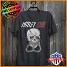 FREESHIP MOTLEY CRUE Concert Vintage T-Shirt Music Tee For Fans Navy S-6XL  image