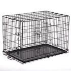 """Dog Pet Crate Kennel Portable Cage Heavy Duty Folding Metal Size 36""""/30""""/24"""" Hot"""