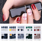 Detachable Full Cover Fasle Nail Tips Glue Sticker Reusable Nail Decoration Tool