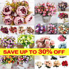 Artificial Peony/Hydrangea /Daisy/Bouquet Bunch Flower Wedding Home Party Decor