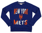 Outerstuff MLB Youth/Kids Boys New York Mets Performance Fleece Sweatshirt, Blue on Ebay