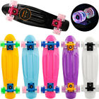 Cool Scooter With Flashing Wheel Fashion Skateboard And Long Board Skateboard US image