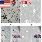 US 2PCS Frosted Privacy Frost Glass Window Film Sticker Bedroom Bathroom Decor