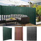 Garden Fencing Bamboo Fence Privacy Screen Border Protector Panel Fixings/cover