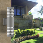 LED-Modern-Exterior-Wall-Light-Sconce-Dual-Head-Wall-Lamp-Up-Down-Fixture-Porch