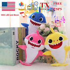 Baby Shark Plush Singing Toys Music Sound Soft Doll English Song Kids Toy Gift