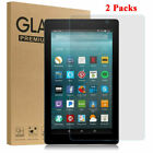 "2PCS Tempered Glass Screen Protector For Amazon Kindle fire 7"" / HD 8""/ HD 10"""
