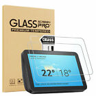 """2PCS Tempered Glass Screen Protector For Amazon Kindle fire 7"""" / HD 8""""/ HD 10"""""""