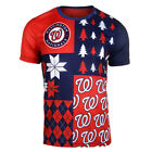 FOCO MLB Men's Washington Nationals Busy Block Ugly Crew Neck Tee on Ebay