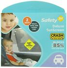 Safety 1st 2 Pack Baby On Board Deluxe Sunscreen