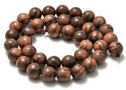 "6mm 8mm 10mm Natural Wood Beads Round Polygons Spacer 15"" Strand"