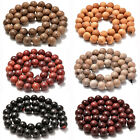 Kyпить 6mm 8mm 10mm Natural Wood Beads Round Polygons Spacer 15