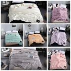 Children quilt Thin Twin Full Blanket summer Air condition Dormitory washing image
