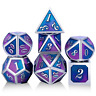Metal Dice Set D&D,DNDND 7PCS Metallic Die for Role Playing Game DND Dugeons and
