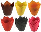 Professional Catering Quality Tulip Large Muffin Paper Cupcake Cake Cases Wraps