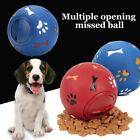 Pet Dog Puppy Chew Training Ball Cat Kitten Food Dispenser Leaking Chewing Toys