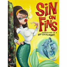 Sins on Fins Candy Wild Mermaid B Movie Poster Rolled Canvas or Paper Art Print