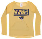 OuterStuff NFL Youth Girls Team Color Thermal and Fleece Top, Los Angeles Rams $18.99 USD on eBay