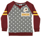 OuterStuff NFL Youth Girls Team Logo Polka Dot Print Crew, Washington Redskins $17.5 USD on eBay