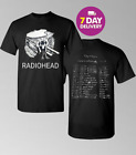 Radiohead North America Concert Tour 2018 T-Shirt Full Size. image