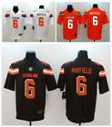2019 Men's Cleveland Browns #6 Baker Mayfield  Game Jersey SEWN ON M-3XL on eBay