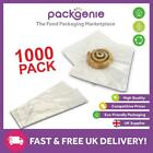 Film Front White Paper Bags - Cellophane/Window/Clear/Sandwich/Food/Card/Cake