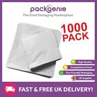 1000 x High Quality White Sulphite Paper Bags Fruits Sweets Packing Gifts All si