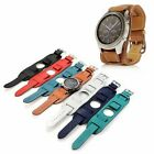 For Samsung Galaxy Watch 46mm Gear S3 Frontier Fashion Leather Watch Band Strap image