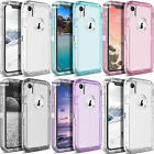 Clear Defender Case for iPhone 11 Pro XS MAX X XR 6 7 8 Plus fits Otterbox Clip