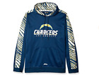 Zubaz Men's NFL San Diego Chargers Pullover Hoodie With Zebra Accents $39.99 USD on eBay