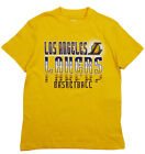 NBA Basketball Kids / Youth Los Angeles Lakers Extreme Logo T-Shirt - Yellow on eBay