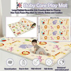 Cartoon Children Double-sided Folding Crawling Mat Baby Indoor Outdoor Play Mat