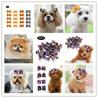 Pet Hair Bows w/Rubber Bands for Small Dog Cat Grooming Hair Accessories