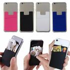 Silicone Mobile Phone Credit Card Pocket For Energy Sistem Phone Neo