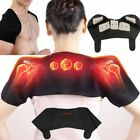 Shoulder Pad with Self Heating Magnetic Therapy Easy to Wear Wrap Protector Pain