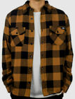 Dickies Lansdale Flannel Hemd gefüttert Regular Fit Shirt brown duck braun
